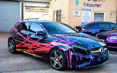 Car Wrapping and Window Tinting Gallery - Ideas