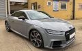 Full vehicle wrap in Nardo Grey for TTRS